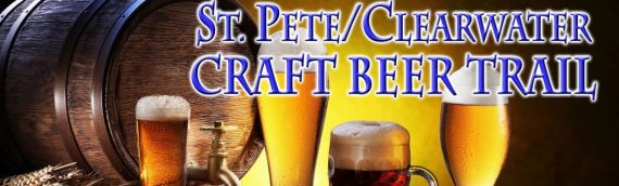 The St. Pete/Clearwater Craft Beer Trail runs north to south from Tarpon Springs to St. Pete — an hour's drive, end to end.