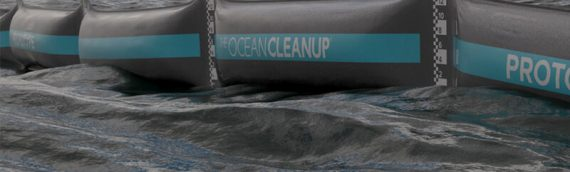 What are we doing about getting rid of all the plastic floating in the ocean and forming giant gyres far from land?